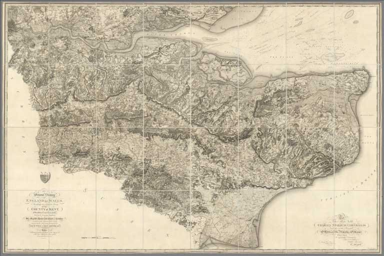 David Rumsey Historical Map Collection April - Brits label us map 2015