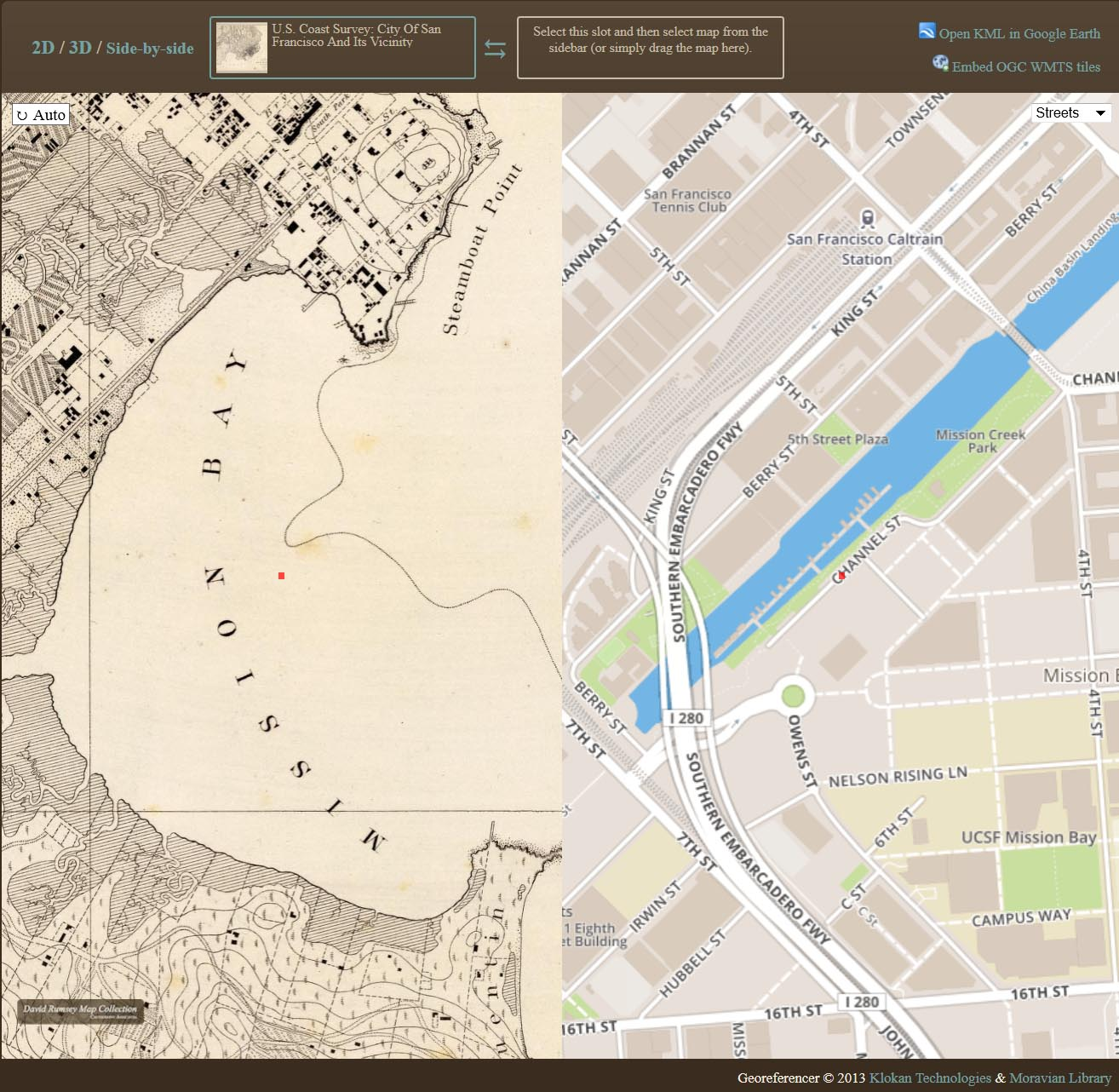 David Rumsey Historical Map Collection Georeferencer Added to