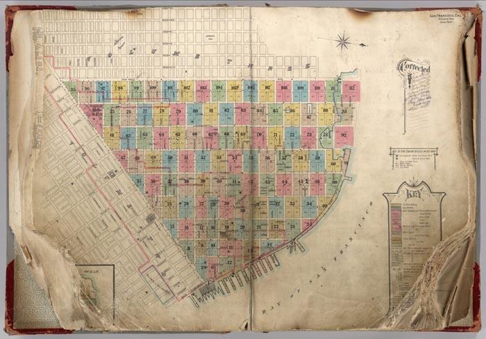 David Rumsey Historical Map Collection Pre Earthquake San