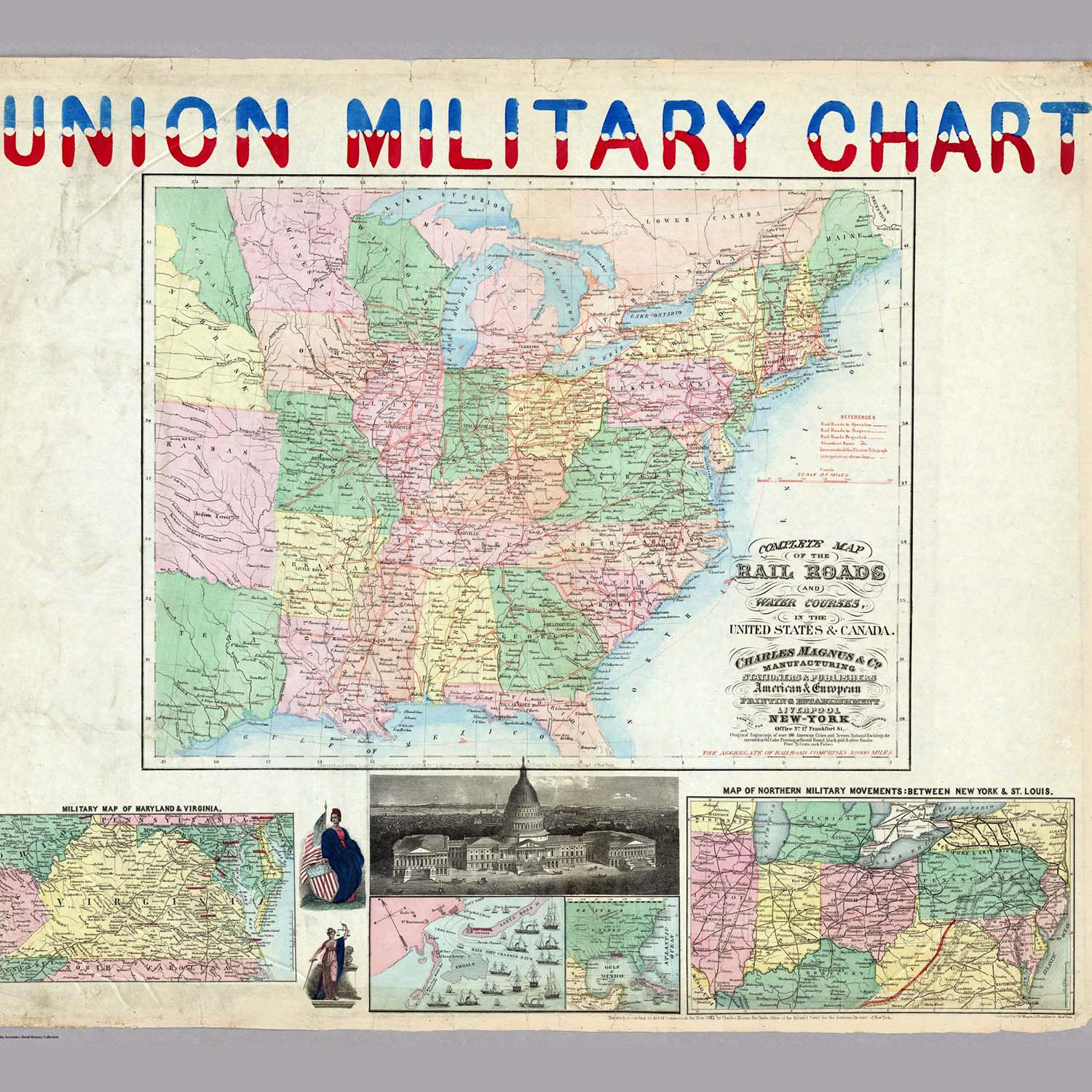 David Rumsey Historical Map Collection The Collection - Us-road-maps-for-sale