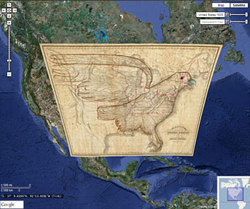 David Rumsey Historical Map Collection Google Maps - Google maps to and from