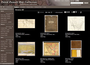 David Rumsey Historical Map Collection | View Collection on