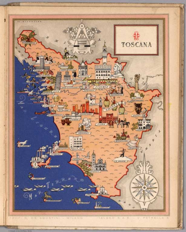 David Rumsey Historical Map Collection | Over 2,000 Pictorial Maps ...