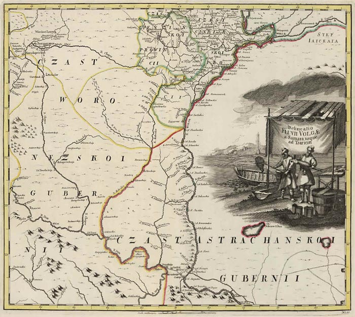David Rumsey Historical Map Collection  First Atlas of Russia