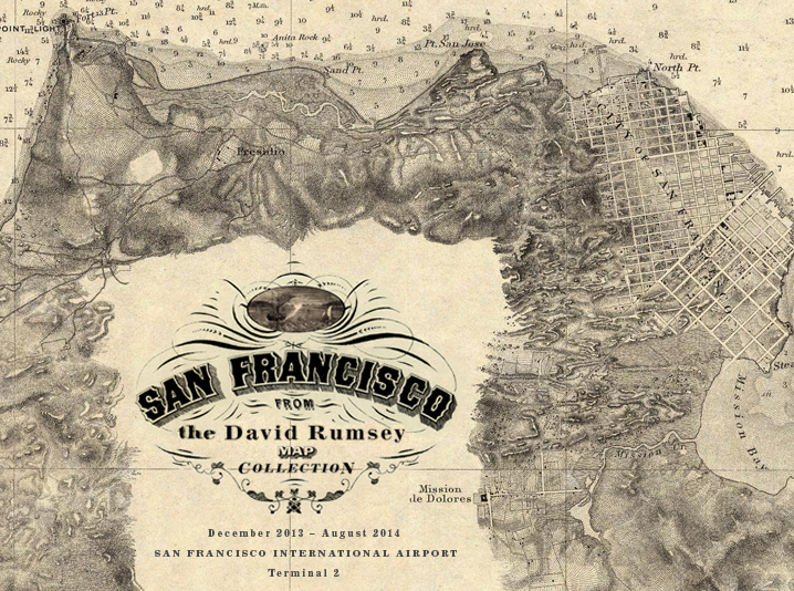 David Rumsey Historical Map Collection San Francisco Airport